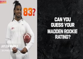 Rookies guess their 'Madden NFL 22' rating