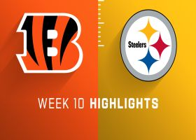 Bengals vs. Steelers highlights | Week 10
