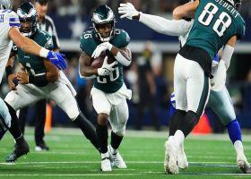 Miles Sanders breaks loose for explosive 24-yard burst