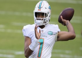 Game Theory: Fins' playoff probability changes with Tagovailoa