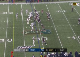 Tom Brady darts third-down DIME to Jakobi Meyers in tight coverage