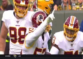 Ryan Anderson pickpockets Aaron Rodgers for key Redskins turnover