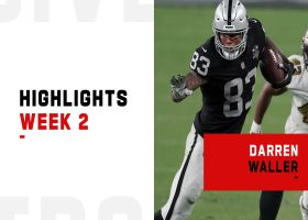 Every catch from Darren Waller's 103-yard game | Week 2