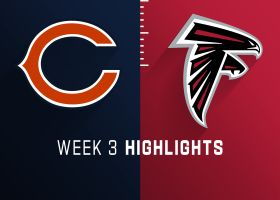 Bears vs. Falcons highlights | Week 3