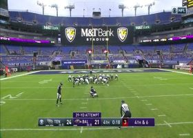 'Mr. Automatic': Justin Tucker hits 29-yard game-tying FG