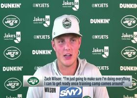 Zach Wilson shares how he's getting ready for training camp
