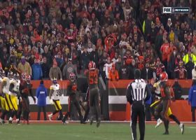 Joe Schobert pulls in second interception of game