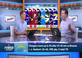 Hanzus explains why Chargers are No. 5 team entering Week 6 | 'Power Rankings'