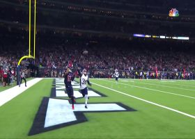 Deshaun Watson with a 35-yard touchdown pass to Kenny Stills vs. New England Patriots