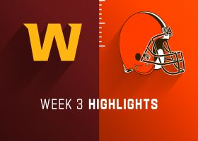 Washington vs. Browns highlights | Week 3