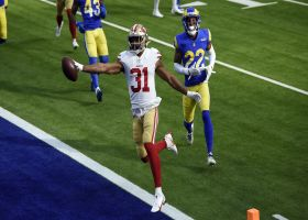 Mostert hits paydirt on 49ers' 75-yard drive with untouched TD