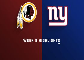 Redskins vs. Giants highlights | Week 8