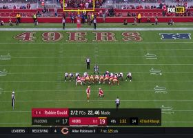 Robbie Gould makes clutch 43-yard FG