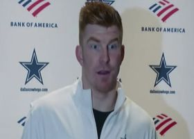 Andy Dalton: 'I'm thankful' to be back and help this team win
