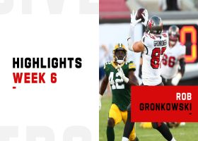 Every catch by Rob Gronkowski vs. Packers | Week 6