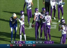 Harrison Smith makes Rivers pay with INT