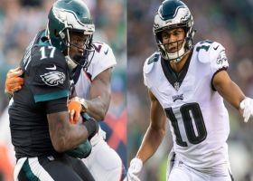 Randy Moss: Philadelphia Eagles wide receivers Alshon Jeffery, Mack Hollins out against Atlanta Falcons in Week 1