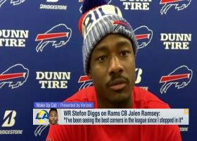 Stefon Diggs previews upcoming matchup vs. Rams CB Jalen Ramsey