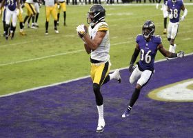 Steelers' 45-yard drive ends with go-ahead TD to Chase Claypool