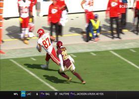 Kelce swiftly turns upfield on 19-yard catch and run