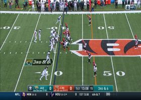 Tip-drill INT! Bengals pick off Minshew's deflected pass