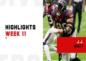 All four of J.J. Watt's swatted passes vs. the Patriots | Week 11