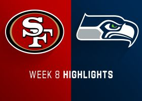 49ers vs. Seahawks highlights | Week 8