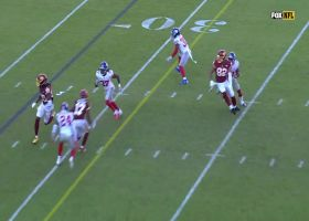 Cam Sims refuses to go down on 33-yard catch and run