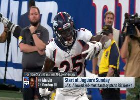 Start 'Em, Sit 'Em RB, TE for Week 2 | 'NFL Fantasy Live'