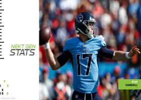 Next Gen Stats: Ryan Tannehill's three most improbable completions | Week 7