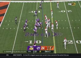 Cousins' frozen rope hits Conklin for 27 yards in the clutch