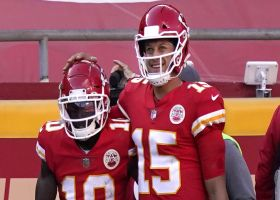 Pioli: Patrick Mahomes-Tyreek Hill connection is 'otherworldly'