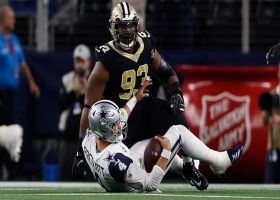 Third-down sack halts Cowboys' promising opening drive