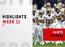 Best defensive plays from Saints' win vs. Eagles | Week 11