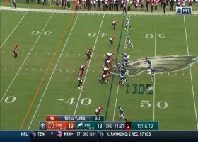 Glue stick: Ertz makes one-handed catch for first down