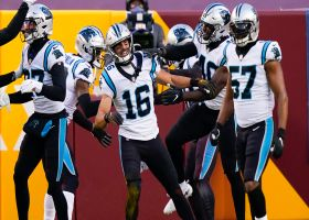 Panthers pounce on Steven Sims's muffed punt for TD
