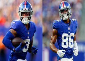 Rapoport: Giants 'probably not going to have' Shepard, Slayton vs. Saints