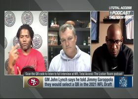John Lynch: Garoppolo was first 49ers player to reach out to Lance after he was drafted