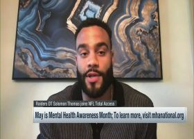 Solomon Thomas joins Steve Wyche to discuss mental health awareness