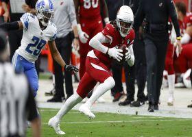 Kyler works through progression to find Hopkins for 21-yard pickup