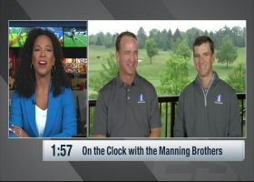 Peyton vs. Eli: Manning brothers answer questions on the clock