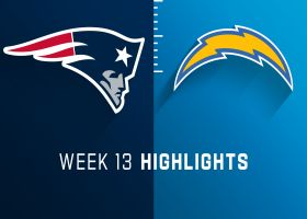 Patriots vs. Chargers highlights | Week 13