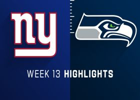 Giants vs. Seahawks highlights | Week 13