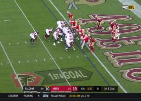 Falcons' heavy formation sets up Qadree Ollison's strong TD run