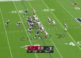 Nelson Agholor darts over middle for 28-yard catch and run