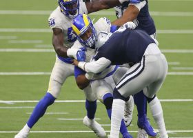 Aaron Donald sacks Dak to force third-and-long