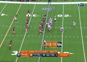 DaeSean Hamilton carves up Houston's secondary for 27-yard gain