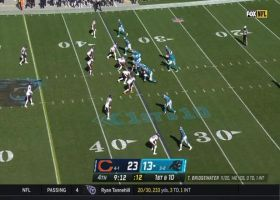 D.J. Moore hauls in stellar sideline snag on perfect throw from Teddy B