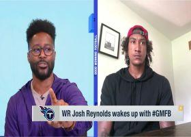 Josh Reynolds: Julio Jones is 'tremendous' for the team