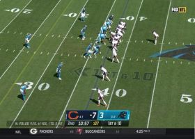 David Montgomery breaks out nifty spin move during 12-yard catch and run